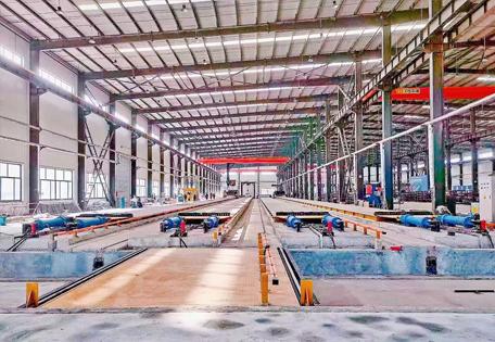 叠合板生产车间展示